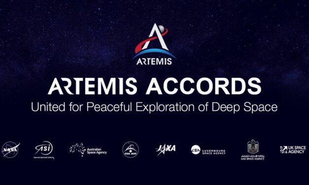 Artemis, siglato il primo accordo di cooperazione internazionale
