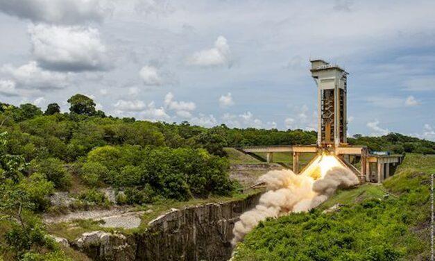 Esa, testato con successo il motore per Ariane 6