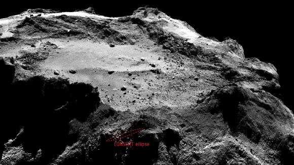 Philae scopre il nucleo soffice e ricco di ghiaccio della cometa 67P