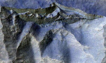 L'antico ghiaccio di Marte