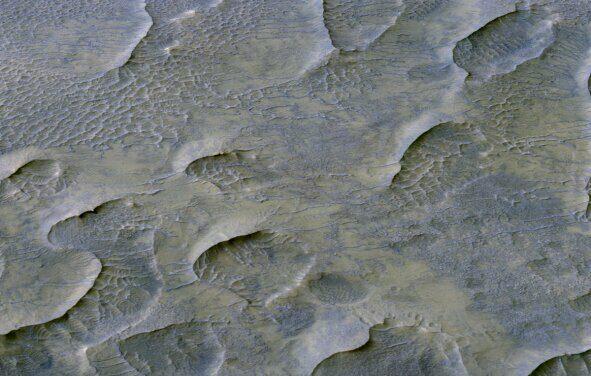 Le dune sedimentate raccontano il passato di Marte