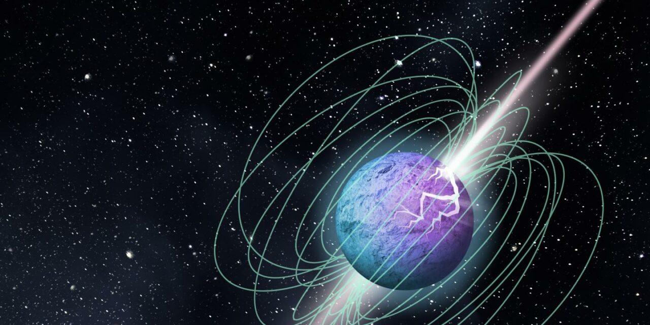 Una magnetar nella Via Lattea fa luce sull'origine dei Fast Radio Burst