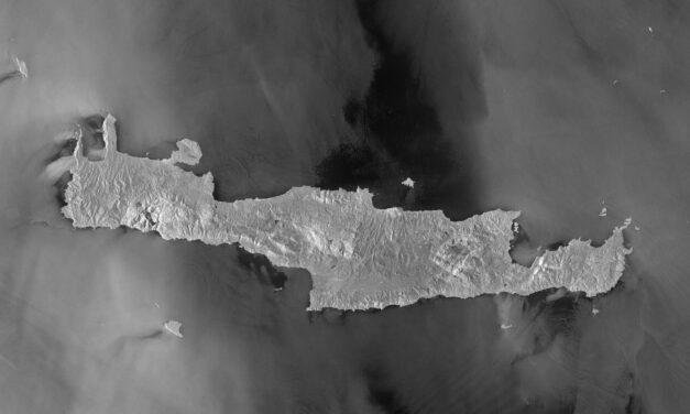 Sentinel-1 immortala l'isola di Creta