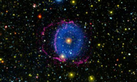 Nebulosa Blue Ring, mistero risolto