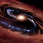 Una galassia 'tosta'