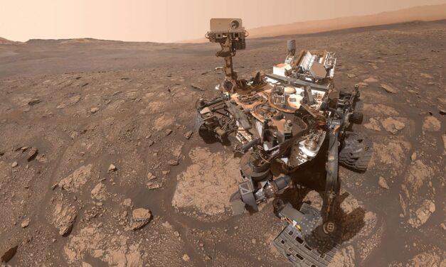 Le rocce di Marte all'analisi di Curiosity