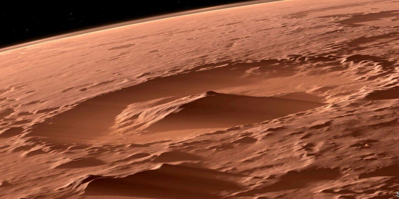 La chimica extraterrestre di Marte