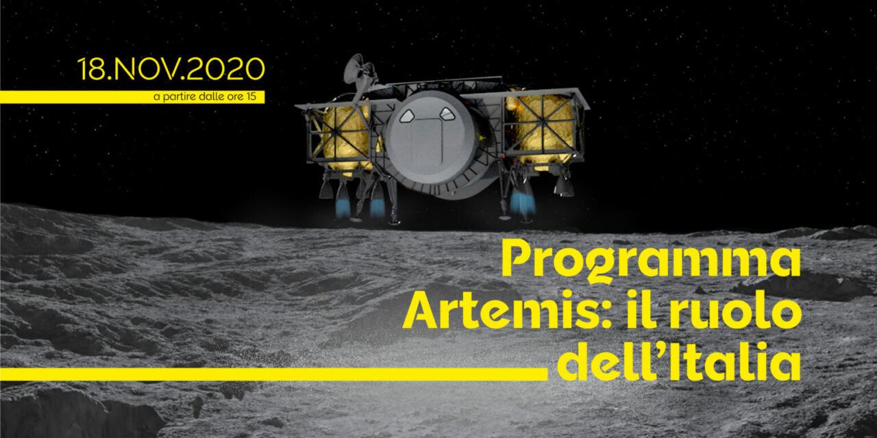"""Webinar """"Artemis: il ruolo dell'Italia"""""""