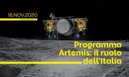 Artemis: il ruolo dell'Italia