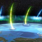 Elettroni killer nelle aurore pulsanti