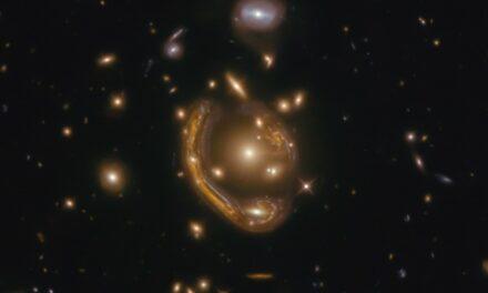 Un 'anello' galattico per Hubble