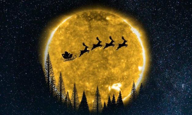Babbo Natale sulla Stazione Spaziale Internazionale