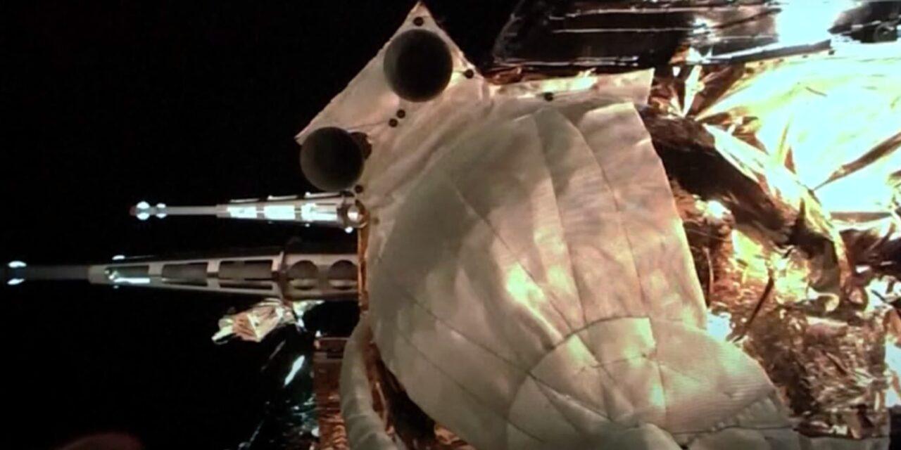 Chang'e-5 ha catturato la Luna