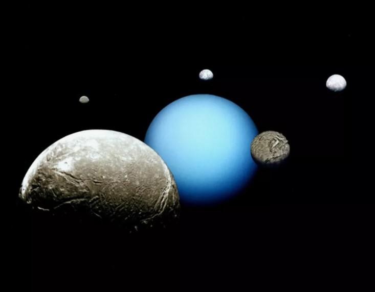 Oceani segreti sulle lune di Urano
