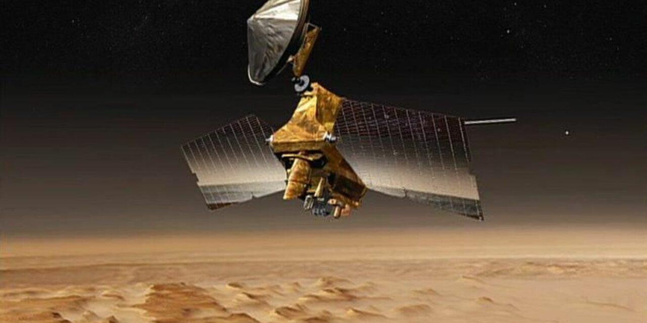 Sharad individua depositi di ghiaccio nell'emisfero sud di Marte