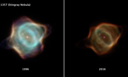 Hubble osserva una nebulosa che sta svanendo