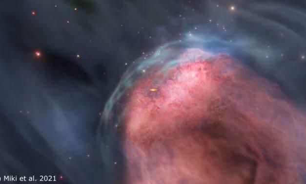 Buchi neri a dieta nello scontro galattico
