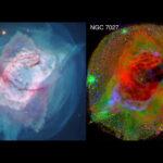 Due nebulose per Hubble