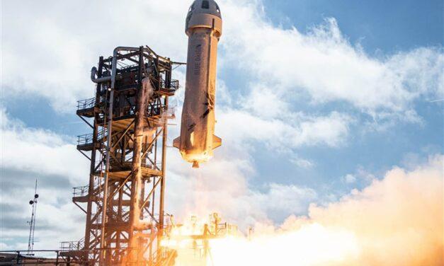 Blue Origin a un passo dal volo umano