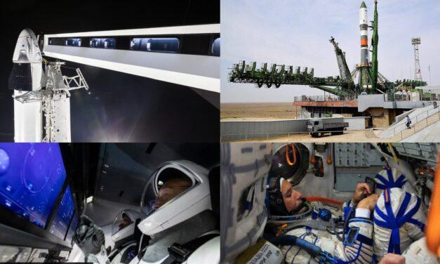 Soyuz vs Dragon: il 2022 sarà l'anno del turismo spaziale