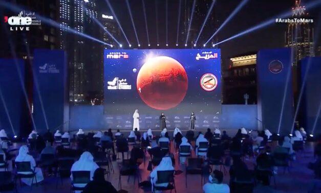 Hope porta gli Emirati Arabi in orbita marziana
